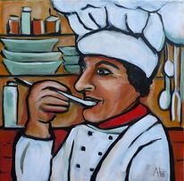 Figur, Menschen, Küchenchef, Koch