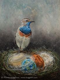 Wächter, Erde, Vogel, Mars