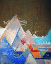 Durcheinander, Korrosion, Eisberg, Wanderung