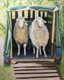 Pinsel, Tiere, Handarbeit, Schaf