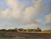 Wolken, Friesland, Himmel, Sommer