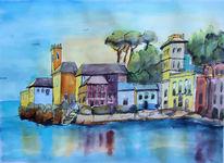 Italien, Riviera, Alassio, San remo