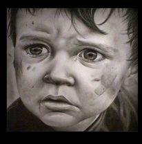 Kind, Krieg, Zeichnung, Zeichnungen