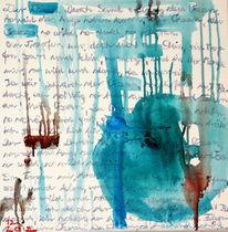 Blau, Ozean, Meer, Malerei