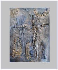 Abstrakt, Menschen, Farben, Kreuz