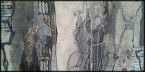 Abstrakte malerei, Fantasie, Menschen, Melancholie