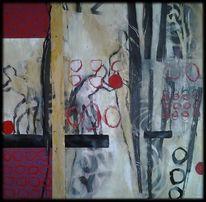 Menschen, Linie, Ball, Abstrakte malerei