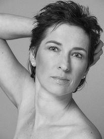 Frau, Schwarzweiß, Portrait, Fotografie