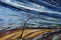 Nebel, Tal, Morgen, Malerei