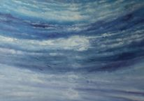 Wolken, Sehnsucht, Himmel, Malerei