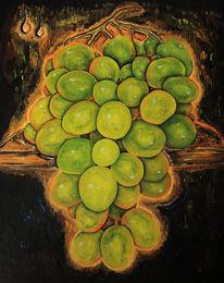 Früchte, Wein, Weintrauben, Malerei