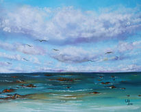 See, Meer, Seelandschaft, Malerei