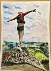 Berge, Freiheit, Menschen, Gipfel