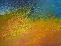 Strand, Ölmalerei, Malerei,