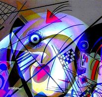 Gold, Kandinsky, Tumult, Farben