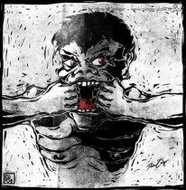 Gesicht, Zornig, Zähne, Ungerechtigkeit