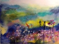 Frühling, Fantasie, Blumen, Natur