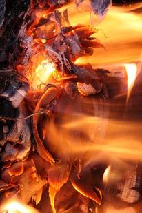 Hoz, Ofen, Flammen, Feuer