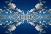 Himmel, Mittag, Spiegelung, Weit