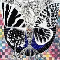 Schmetterling, Flügel, Selbsterkenntnis, Wurzel