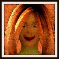 Farben, Figur, Menschen, Portrait