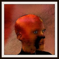 Kachel, Passepartout, Kopf, Charakter