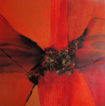 Warm, Rot, Farben, Abstrakt