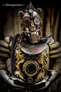 Steampunk, Steampunk clothes, Cosplay, Helm