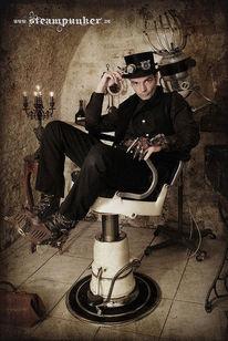 Steampunk, Fantasie, Alt, Keller