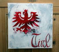 Wappen, Tirol, Adler, Malerei