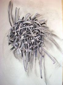 Kohlezeichnung, Zeichnung, Pastellmalerei, Fantasie
