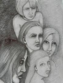 Junge, Kreislauf, Frau, Grenze