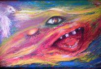 Malerei, Kleine spielerei, Lächeln