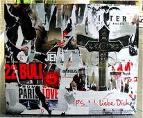 Kreuz, Pop, Plakatkunst, Liebe dich