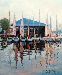 Segelboot, Sommer, Mikolajki, See