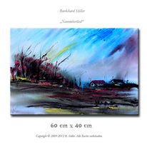 Acrylmalerei, Wandbild, Modern, Malerei