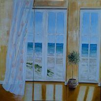Meer, Strand, Groß, Aussicht