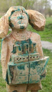 Holz, Skulptur, Kunsthandwerk,