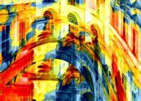Künstlerische bearbeitung, Digitale fotografie, Paintig, Farbfantasie