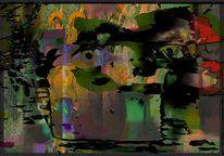 Digitale kunst, Sommerblumen, Gemälde, Stimmungsvoll