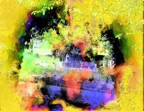 Digitale fotografie, Farbfantasie, Natur, Duftende farben