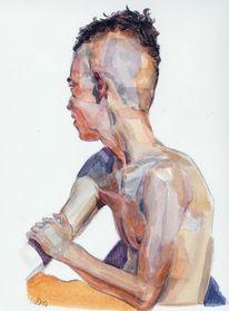 Kopf, Gesicht, Portrait, Zeichnungen