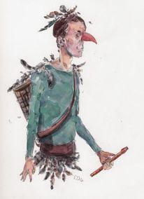 Feder, Papageno, Oper, Vogel