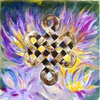 Buddhismus, Lotosblüte, Meditation, Glück