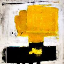 Schwarz, Design, Gelb, Modern