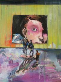 Manet, Menschen, Vernissage, Malerei