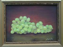Traube, Stillleben, Obst, Malerei