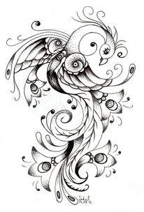 Fineliner pfau, Tattoo, Zeichnungen, Pfau