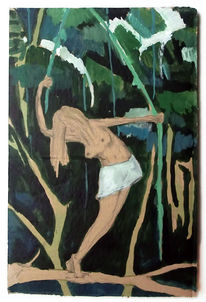 Urwald, Tarzan, Balance, Äste