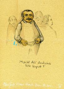 Demokratie, Volk, Staeck, Zeichnungen